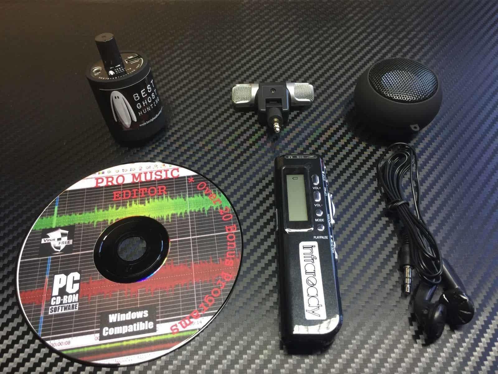 EVP Kit (Recorder, Speaker, Mic, Software)