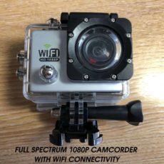 FULL SPECTRUM GHOST HUNTING CAMCORDER CAMERA