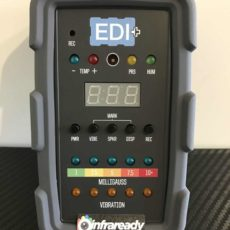 centex edi + plus EDI+ all in one ghost hunting meter tool infraready