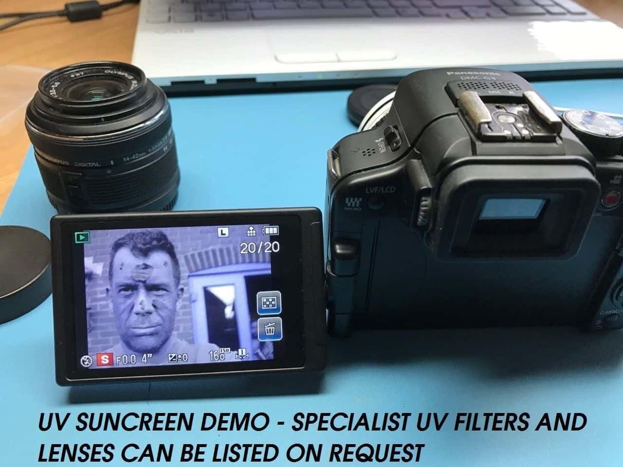 Full Spectrum Converted Digital Camera for IR Photgraphy