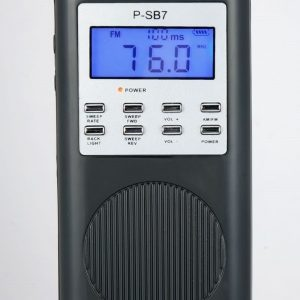 p-sb7 sweep radio spirit box