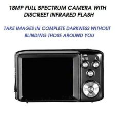 FULL SPECTRUM GHOST HUNTING CAMERA WITH INVISIBLE IR FLASH