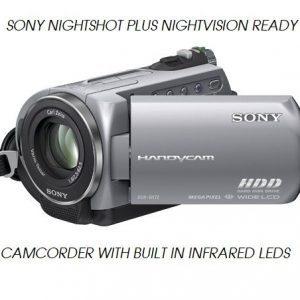 SONY DCR SR52 NIGHTSHOT NIGHTVISION GHOST HUNTING CAMCORDER