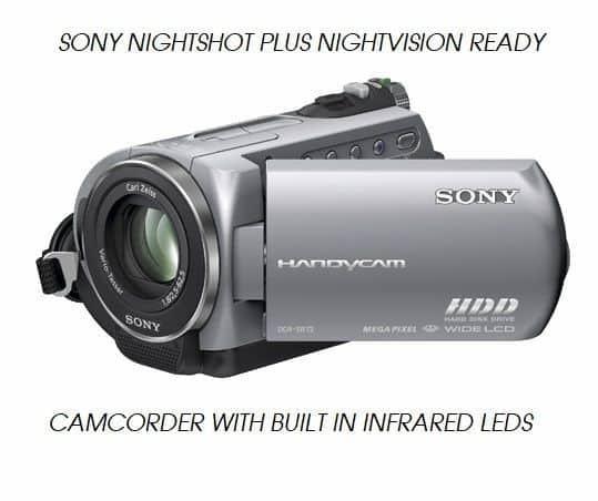 sony handycam nightshot plus