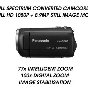 V160 FULL SPECTRUM UFO CAMCORDER GHOST HUNTING P900 NIKON
