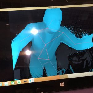 KINECT V2 SLS STICKMAN GHOST HUNTING