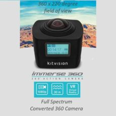 360 degree full spectrum camera camcorder nightvision