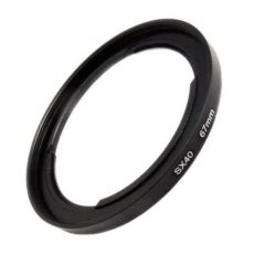 67mm sx30 sx40 sx50 sx60 canon filter adaptor