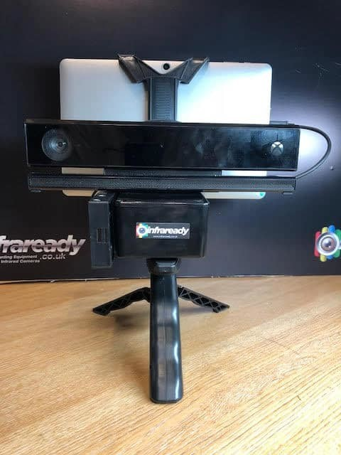 V2 Kinect SLS Portable Camera and Software for Stickman Tracking