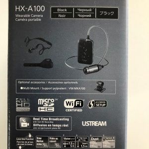 panasonic hx-a100 livestream ustream ghost hunting camera