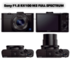 SONY RX100 M2 Full Spectrum Camera (RAW/HDR)