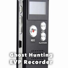 Ghost Hunting Equipment - EVP Recorder