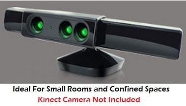 Kinect V1 Wide Angle Zoom Lens Adaptor Comparison