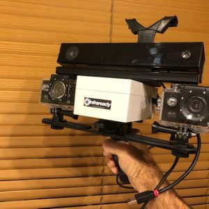 infraredy seraph kinect v2 cam for ghost hunting