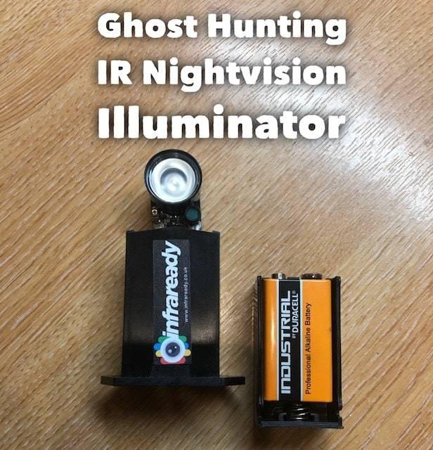 Ghost Hunting IR Nightvision Illuminator