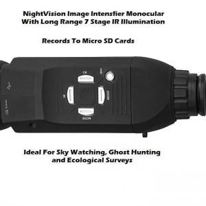 nightscope nightvision record sd card