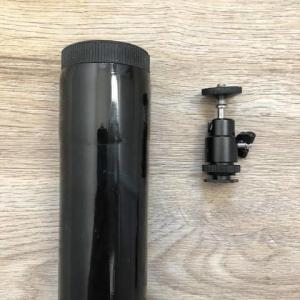 elevated 10m camera pole