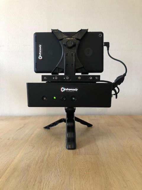 structured light sensor ghost hunting camera