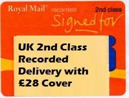 2nd class rec postage