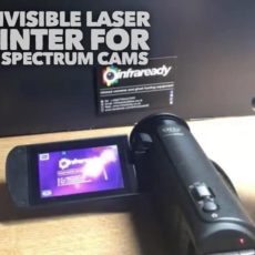 Infrared Laser Ghost Hunting IR