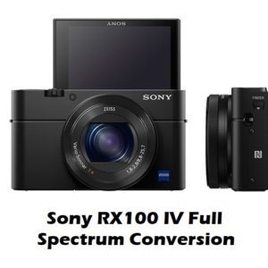 RX100 M4 Sony Full Spectrum Converted
