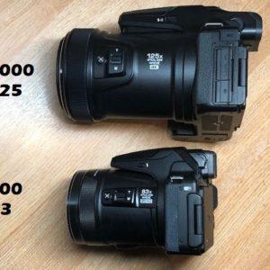 Nikon Coolpix P900 vs P1000