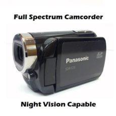 Panasonic S15 Paranormal Nightvision Camcorder
