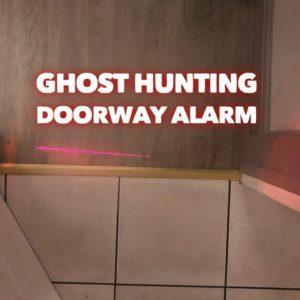 laser doorway alarm laser