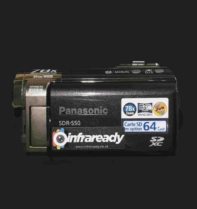 panasonic full spectrum camcorder s50