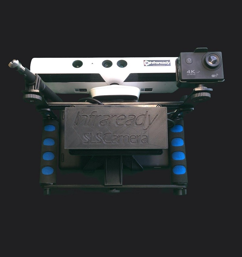 SLS Portable Kinect Camera for Ghost Hunting by Infaready
