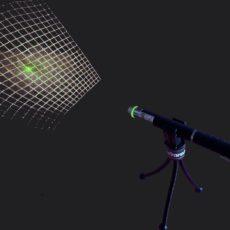 laser square grid