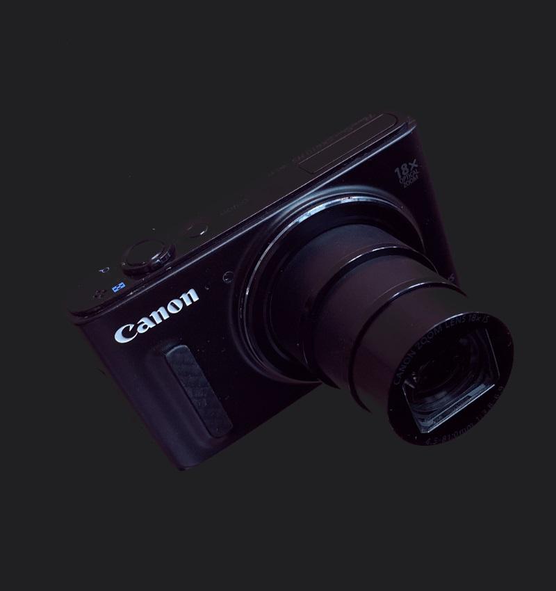canon ir colour 670nm camera