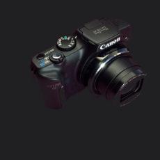 canon sx170 infrared converted camera