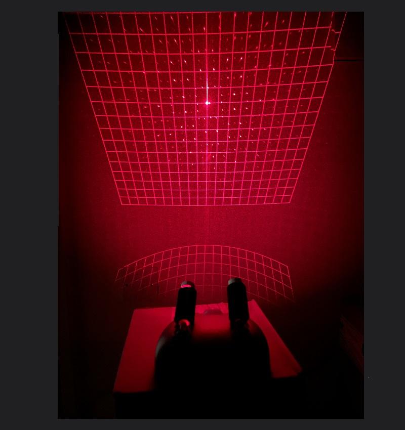square laser grid paranormal