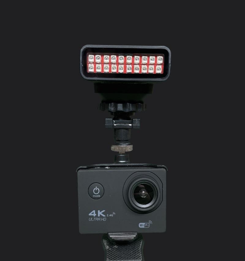 ghost camera and illuminator